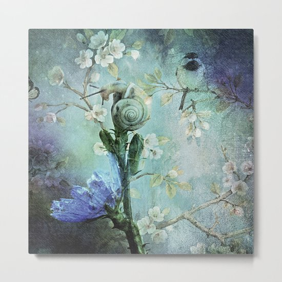 Always Reach for the Top Metal Print