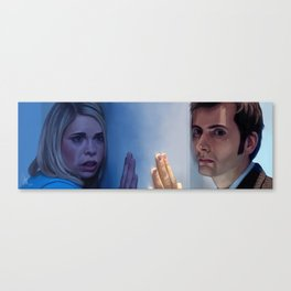 A different universe - Doctor Who Canvas Print