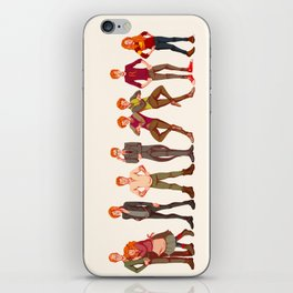 The Weasley Family iPhone Skin