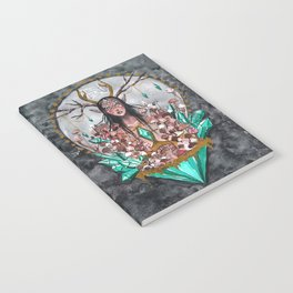 Crystal Fae Witch Notebook