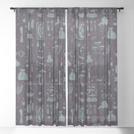 Witchcraft 3 Sheer Curtain