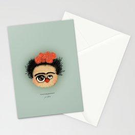 """""""Pies para qué los quiero si tengo alas para volar""""  (Frida Kahlo) Stationery Cards"""