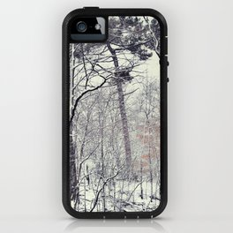 Greenwood in snow, Brooklyn iPhone Case