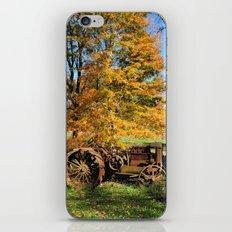 Here I'll stay iPhone & iPod Skin