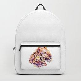 Leopard Head Backpack