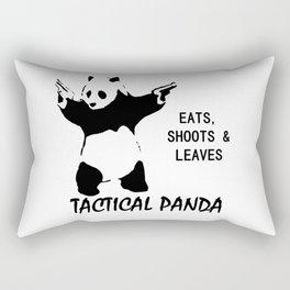 tactical panda Rectangular Pillow