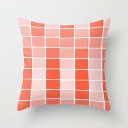 paint chips Throw Pillow