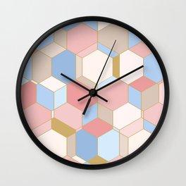 HEXROSE Wall Clock