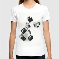 cameras T-shirts featuring cameras by Falko Follert Art-FF77