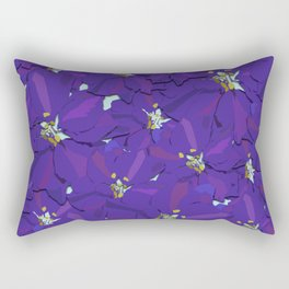 Larkspur Love Rectangular Pillow
