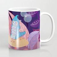 Alice In Wonderland and The Caterpillar Mug