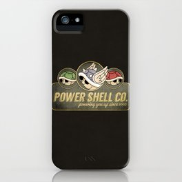 Power Shell Co. iPhone Case