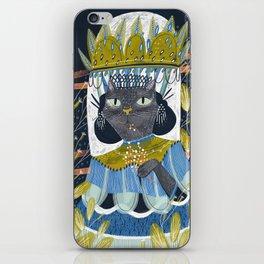 Cat Lady A iPhone Skin