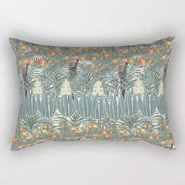 orange tree Rectangular Pillow
