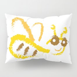Funny bee Pillow Sham