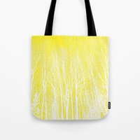 woodland Tote Bags featuring woodland by  Agostino Lo Coco