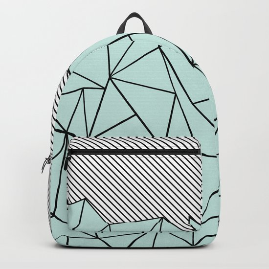 Ab Lines 45 Mint Backpack