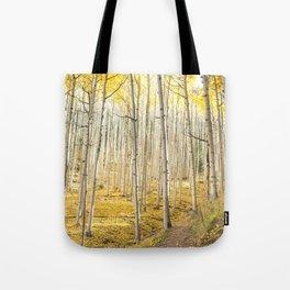 Fall Colors, Yellow Woods Tote Bag