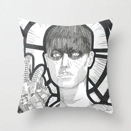S.F. (Saint Furiosa)  Throw Pillow