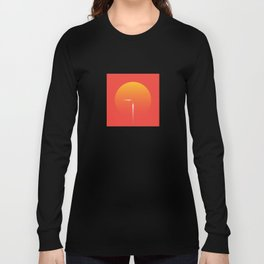 Red Voyage: The Airship Long Sleeve T-shirt