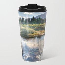 Fall Fly Fishing in Maine Metal Travel Mug