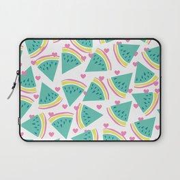Watermelon love pattern Laptop Sleeve