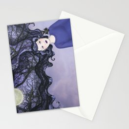 bat girl Stationery Cards