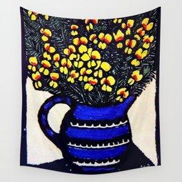 """""""Dilwynia"""" by Australian Artist Margaret Preston Wall Tapestry"""