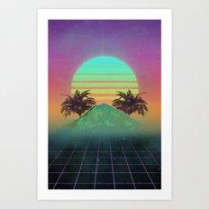 80s love Art Print