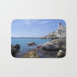 Antibes, France Bath Mat