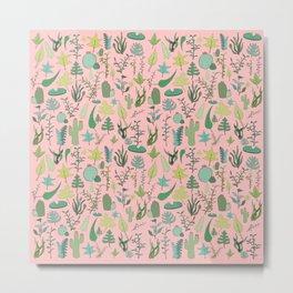 Nature Pink Metal Print