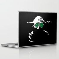 yoda Laptop & iPad Skins featuring Yoda by eARTh