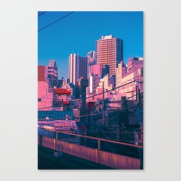Early Morning Tokyo Canvas Print