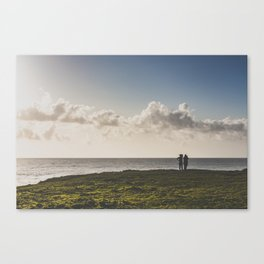 Mendocino Whale Watchers Canvas Print