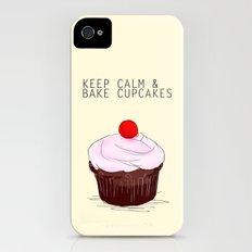 keep calm iPhone (4, 4s) Slim Case