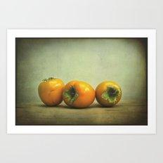 fruity still life Art Print