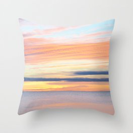 cape cod light Throw Pillow