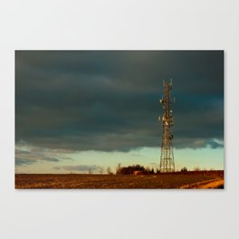 Storm over Combe Canvas Print