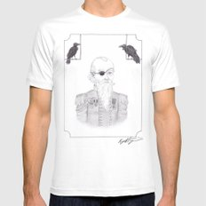 Odin Mens Fitted Tee SMALL White