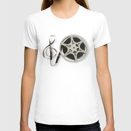 Famous Reel and Clef Image by Leslie Harlow T-shirt