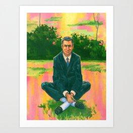 Cary Grant 1958, LSD Art Print