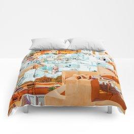 Santorini Vacay #photography #greece #travel Comforters
