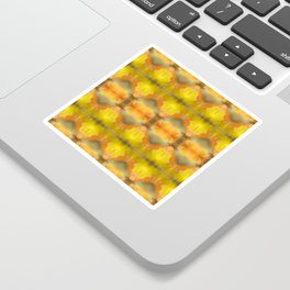 Fall Leaf Abstract Sticker