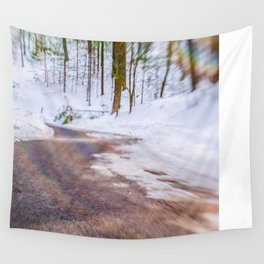 Take Me Up the Mountain Wall Tapestry
