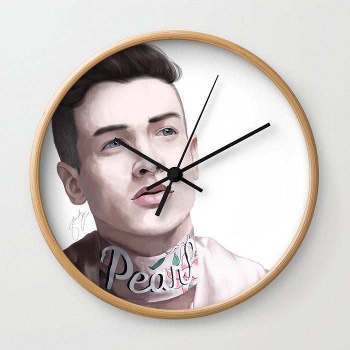 Pear Liaison Wall Clock