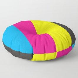 CMYK Floor Pillow