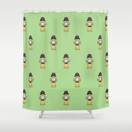 Dapper Hydrant Shower Curtain