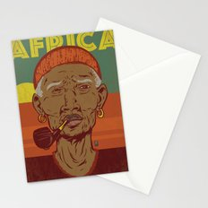 Modern Africa Stationery Cards