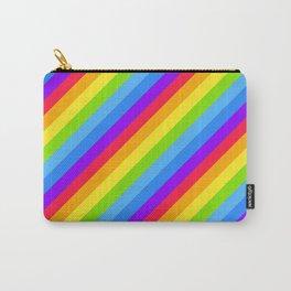 RAINBOW diagonal Carry-All Pouch