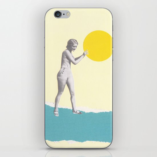 She Caught the Sun iPhone & iPod Skin